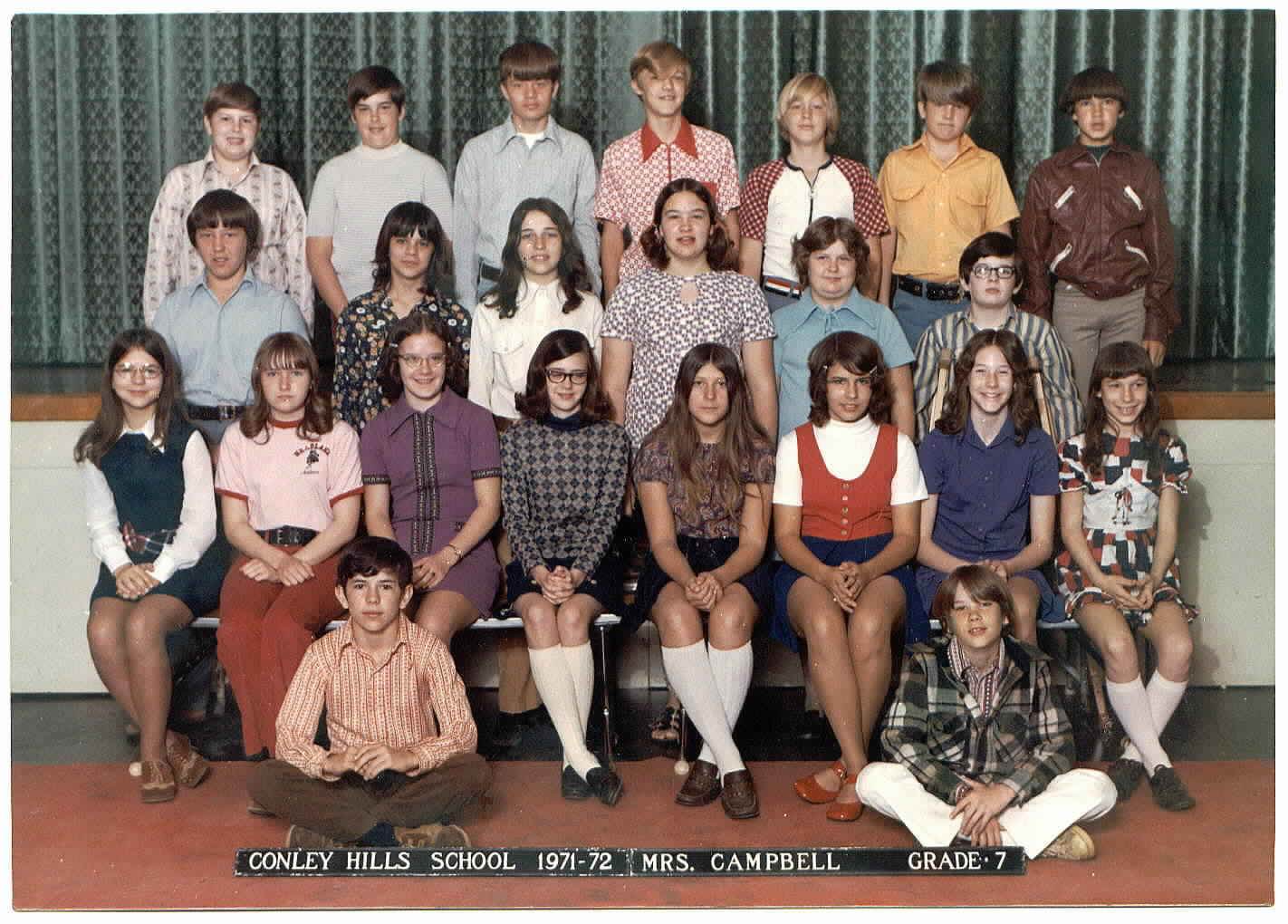 conley hills elementary school 7th grade